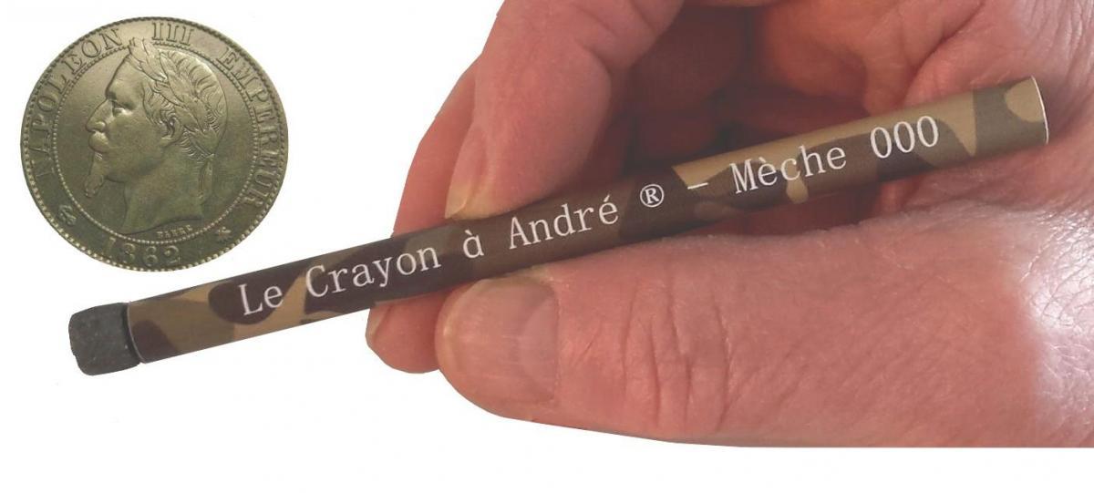 Crayon mèche utilisation longue durée