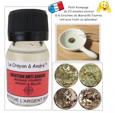 SOLUTION ANTI GANGUE COIN SILVER, Billon, filled